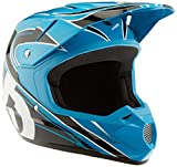 SixSixOne Comp MX Helmet (Cyan/Black, Large)