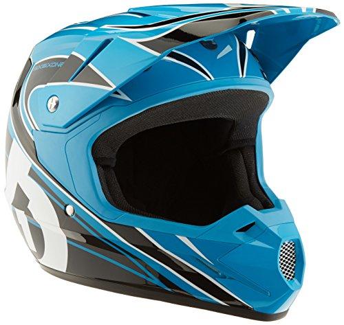 Preisvergleich Produktbild SixSixOne Kinder Helm Comp MX,  Cyan / Black,  58-60,  6953-38-053