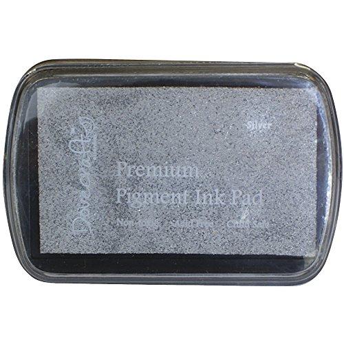 Rayher 28990606 Dovecraft Pigment-Stempelkissen, silber