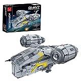 Myste Kit de bloques de construcción de nave espacial Sci-Fi, 4453 piezas, modelo de nave, nave, espacial gigante UCS, juego de construcción compatible con Lego