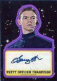 Star Wars Journey to Last Jedi Autograph Card A-TB Purple Thomas Brodie-Sangster