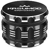 Premium Herb Grinder by KRSUMOD 4 Piece Aluminum Alloy 2.5 Inch