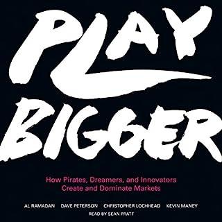 Play Bigger audiobook cover art