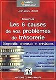 Les 6 causes de vos problèmes de trésorerie - Diagnostic, pronostic et prévisions.