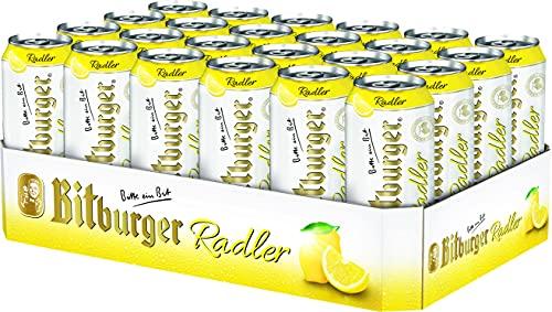 Bitburger Radler, EINWEG (24 x 0.5 l)