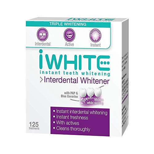 iWhite Omedelbar interdental blekning för tandblekning — lyser upp och stärker — eliminerar interdentala missfärgningar — omedelbar friskhet — kliniskt bevisad effekt — optisk blekning