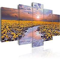 ウォールアート自然景観ポスターキャンバス絵画花はリビングルームの装飾のためのモジュラー写真を印刷します30x40cm30x60cm30x80cmフレームなし