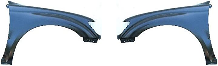 Fender Compatible with 1998-2000 Toyota Tacoma Set of 2 Steel Primed Front Left and Right Side