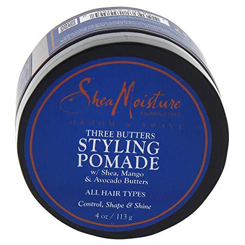SHEA MOISTURE Three Butters Styling Pomade Control Shape/Shine