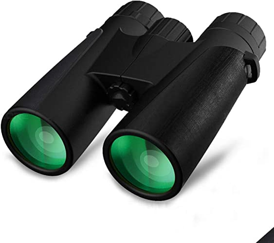GJJ Jumelles noir Panther 12X42     Haute définition Basse Vision Vision Nocturne     Jumelles,Noir,A