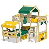 WICKEY Cama de matrimonio CrAzY Trunky Litera Cama infantil 90x200 para 2 niños en diseño...