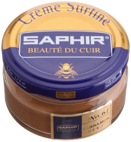 Saphir Crème Surfine Lederpflegemittel, Dose, - - (61) Cinnamon - Größe: 50ml