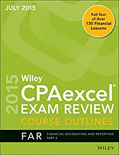 Wiley CPA Excel Exam Review Course Outlines (July 2015) Part 2