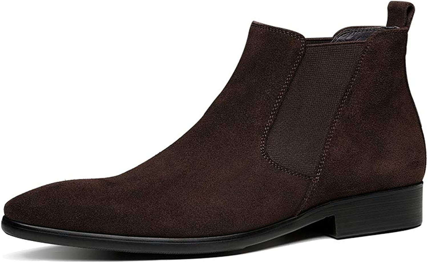 Jsix Men's Genuine Leather Ankle Boots Chelsea Boot shoes