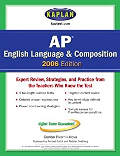 Kaplan AP English Language and Composition 2006 (Kaplan AP English Language & Composition)