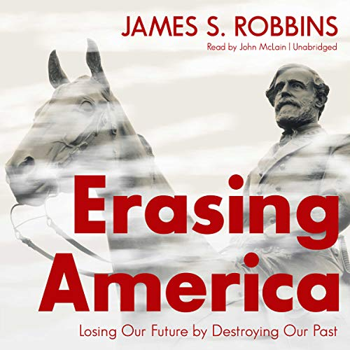 Erasing America audiobook cover art