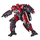Transformers Red Lightning Bumblebee Action Figure