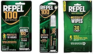 Repel Mosquito Repellent Value Travel Bundle Wipes Pump & Pen