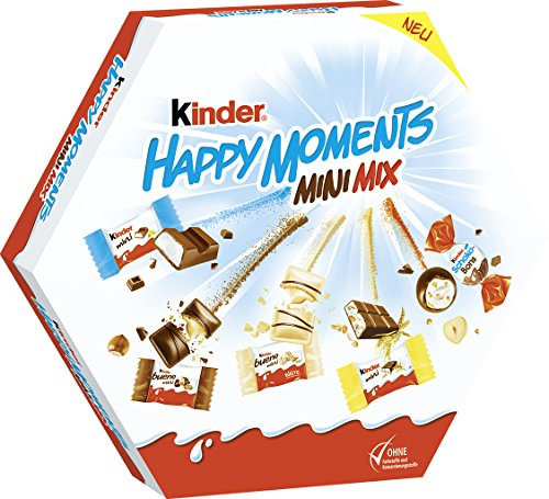 Ferrero Kinder Happy Moments Mini Mix (3 x 162g)