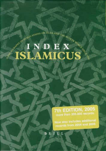 Islamicus: A Bibliography of Publications on Islam and the Muslim World Since 1906