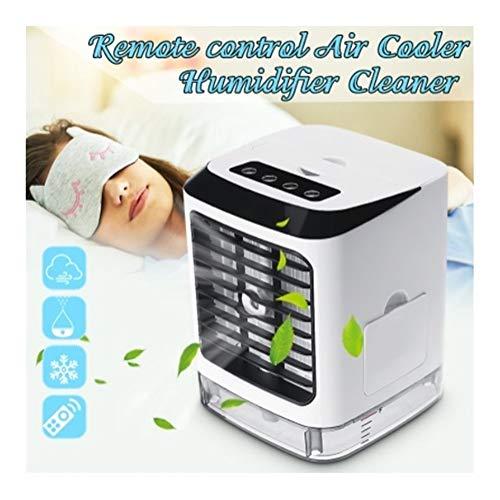 Desktop-Air-Cooler tragbare Mini-Ventilator Evapolar Luftbefeuchter Portable 3 Gang Fern mit Fernbedienung for Office Home YSJ