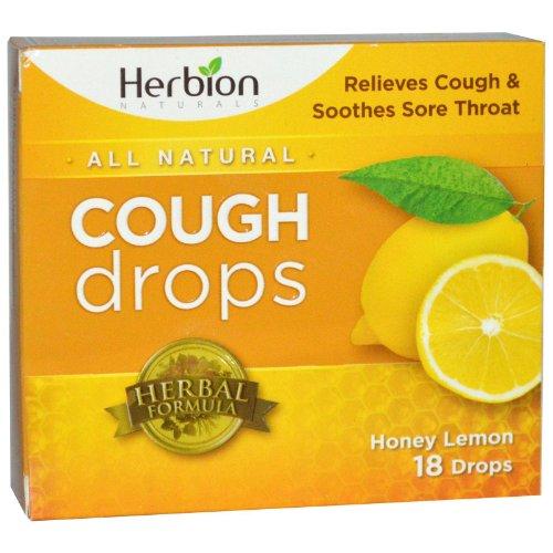 Herbion Naturals - Pastiglie per la tosse al miele e limone(cough lozenges - honey lemon flavour) 18...