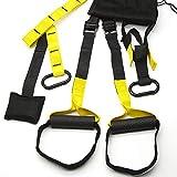 Goodbuy Kit Entrenamiento en Suspensión, Mejora Flexibilidad y Equilibrio, Entrenamiento Militar, Muscular y Central, Ejercicio Fitness, Fortalecimiento Resistencia y Tonificación Muscular Fitness