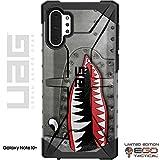 EGO Tactical Limited Edition UAG Urban Armor Gear Case for Samsung Galaxy Note 10 Plus - P-40 TigerShark Jaws Teeth Warthog Warhawk