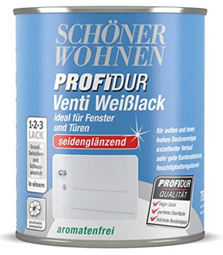 Schöner Wohnen Profidur Venti Weißlack Seidenglänzend 375 ml