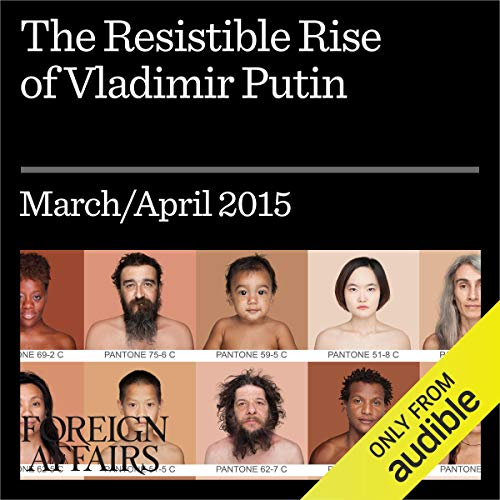The Resistible Rise of Vladimir Putin audiobook cover art