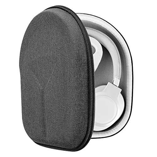Geekria UltraShell Case Compatible con JBL Tour One, Tune 750NC, Tune 700BT, Live 650BTNC Auriculares, con Bolsa viajera Protectora de Repuesto con Espacio para Accesorios(Dark Grey)