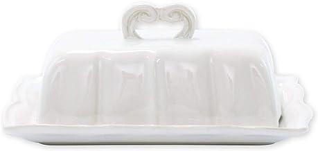 طبق زبدة الباروك الأبيض من فيتري انكانتو ستون