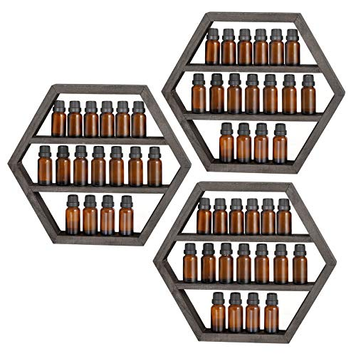 LIANTRAL Essential Oil Storage, Wall Mounted Floating...