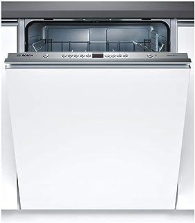 Bosch Serie 4 SMV46KX04E lavavajilla Totalmente integrado 13 cubiertos A++ - Lavavajillas (Totalmente integrado, Tamaño completo (60 cm), Blanco, Plata, Botones, LED)