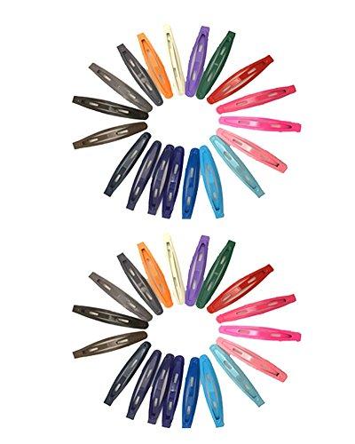 YAKADI barrettes pour les filles, les enfants et les femmes des divers accessoires de coiffure 19 paires (19 paires pack) (19 pairs pack)