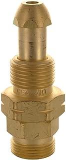 Western Enterprises 315 Brass Cylinder Adaptors, from CGA-510 POL Acetylene to CGA-520