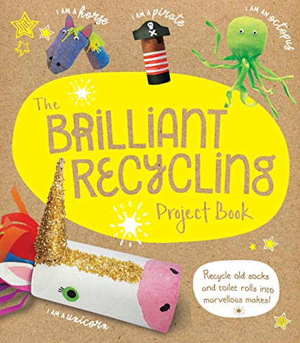 Stanford, S: Brilliant Recycling Project Book: Recycle old socks and toilet rolls into marvellous makes!