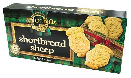 Irische Shortbread Kekse in Schäfchen Form