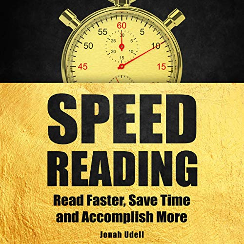 『Speed Reading: Read Faster, Save Time and Accomplish More』のカバーアート