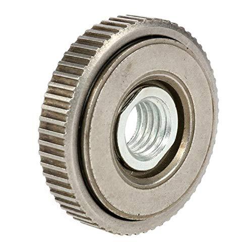 Accesorios para herramientas eléctricas M14 Ángulo de hilo Molinillo Piedra de brida Conjunto de tuerca de liberación rápida Sujeción fija Herramientas eléctricas Reemplazo Inicio Universal Portátil A