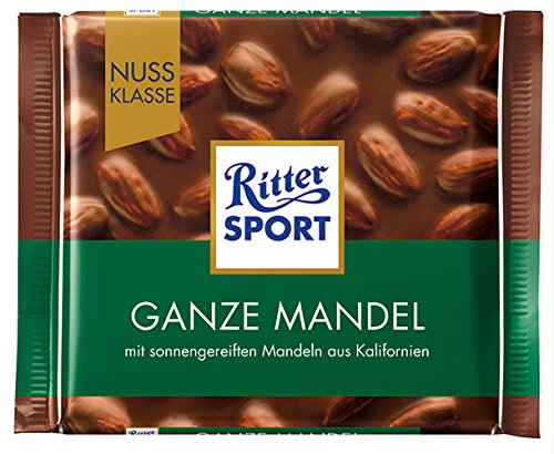 Ritter Sport - Nuss-Klasse Ganze Mandel - 100g