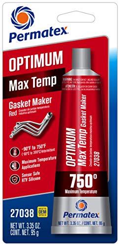 Permatex 27038 Optimum Red High Temperature Gasket Maker 3.35 oz