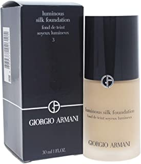 Giorgio Armani Luminous Silk Foundation - 3 Light Warm, 30 ml