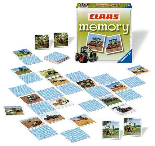 Ravensburger Kinderspiele 22171 - CLAAS memory®, das weltbekannte Gedächtnisspiel mit beeindruckenden Landmaschinen!