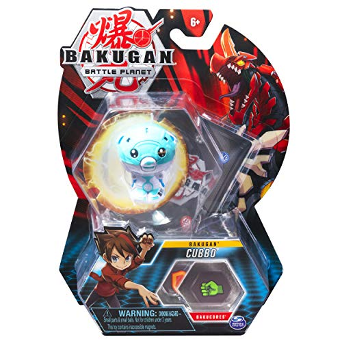 Bakugan, Cubbo, 2-inch Tall Collectible Transforming Creature, for Ages 6 and Up