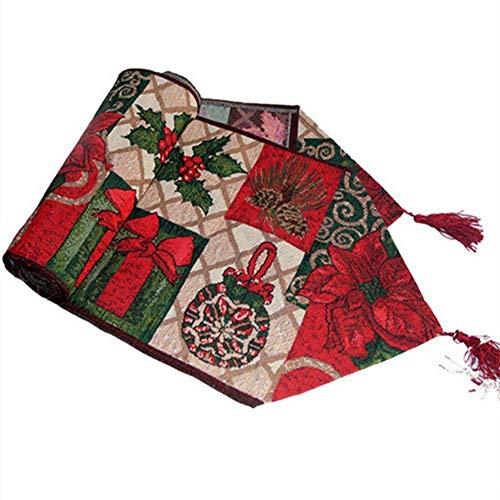 Navidad Papá Noel Diseño Tapiz Zhu Store