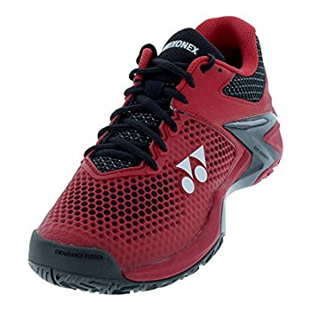 YONEX Power Cushion Eclipsion 2 Mens Tennis Shoes 6.5 Red/Black D Medium