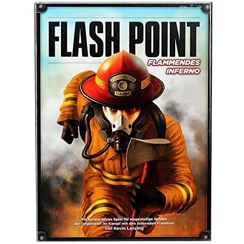 Heidelberger Spieleverlag Boards & Cards - Flash Point - Flammendes Inferno, IBCD0001