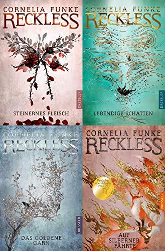 Die Reckless-Serie Band 1-4 plus 1 exklusives Postkartenset
