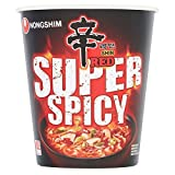 Nong Shim Nongshim Shin Red Super Spicy Cup Noodles, 68g, Pack of 1